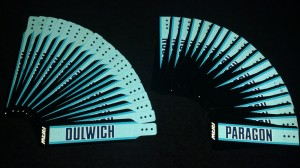 Dulwich Paragon Reflective Mudflaps
